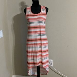 C. Wonder Striped Maxi Dress